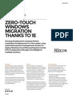 Zero-Touch Windows Migration thanks to 1E