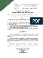 TCN_120_2002(Công trình thuỷ lợi - Xây và lát gạch - Yêu cầu kĩ thuật thi công và nghiệm thu)