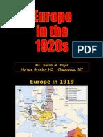 1920sEurope