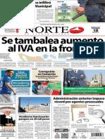 Periódico Norte de Ciudad Juarez 18 de Diciembre de 2013