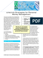 Effective Strategies for Personal Money Mgmt