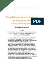 Metodologías de investigación en comunicación (Prólogo)