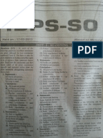 IBPS SO 2013 Paper