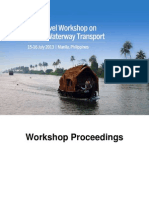 Second High-Level Workshop on Inland Waterway Transport