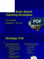 Top 10 Brain-Based Teaching Strategies