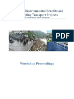 Maximizing Environmental Benefits and Climate Proofing Transport Projects