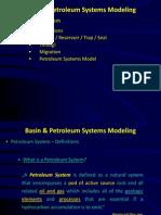 Basin Petroleum Systems Modeling
