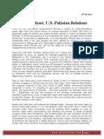 The Next Reset U.S.-pakistan Relations