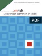 Eindrapport Commissie Onderzoek Elektronisch Stemmen in Het Stemlokaal