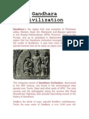 Gandhara Civilization Khyber Pakhtunkhwa Indian Religions
