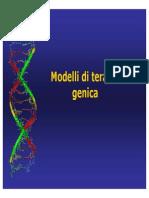 LEZIONE Terapia Genica PDF