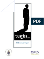 Wits Justice Project Annual Report 2013