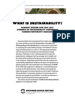 33 What is Sustainability