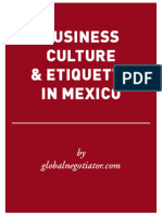 MEXICO BUSINESS ETIQUETTE AND PROTOCOL GUIDE