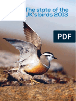 RSPB state of birds UK report