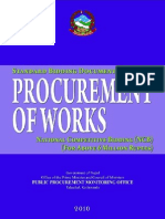 Procurement of Works for Above 6 Million Rupees Ncb