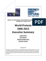 World Protests 2006-2013 Executive Summary