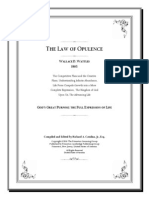 The Law of Opulence by Wallace D. Wattles 1905 SMSE 2010