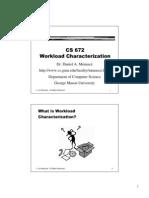 Workload Characterization