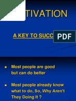 Motivation- Key to Success