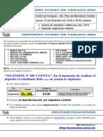 DEPÓSITO CURSO DE VERANO 2013