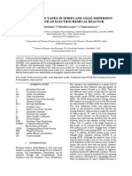 [2010]Comparison of Tanks-In-series and Axial Dispersion Models for an Electrochemical Reactor