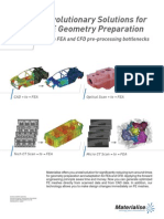 CAE on Top Revolutionary Solutions4CAE Geometry Preparation