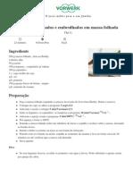 Mundo de Receitas Bimby - Legumes Salteados e Embrulhados Em Massa Folhada - 2012-12-05