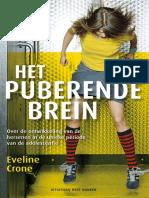 Crone, Eveline - Het Puberende Brein (1)