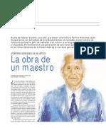 Porfirio Menéses L. Maestro de la narrativa huantina