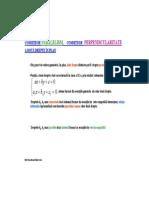 Paralelism si perpendicularitate - geometrie analitica