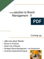 Intro to Brand