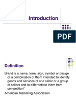 Introduction to branding management