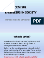 Intro to Ethic for Engineers
