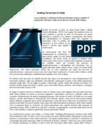 """Ending Terrorism in Italy"" recensione italiana"