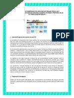 Proyecto de aula TIC (Diplomado Computadores para Educar) - Docente René López