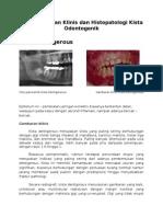 Gambaran Klinis Histopatologi Kista Odontogenik