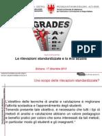 Le rilevazioni standardizzate e la mia Scuola