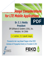 Antenna Design Considerations for LTE Mobile Applications - PRESENTATION
