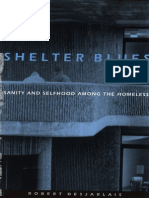 Robert R. Desjarlais-Shelter Blues - Sanity and Selfhood Among the Homeless -University of Pennsylvania Press (1997)
