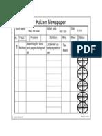 Gemba Research Kaizen Newspaper Sample 2003