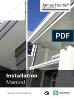 Hardie Eaves and Soffits Installation Manual