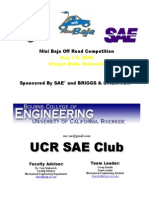UC Riverside Baja SAE
