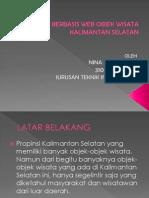 Nina SK - 0702 0663 - Aplikasi Berbasis Web Objek Pariwisata Kalimantan Selatan