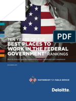 Best Places to Work in the Federal Government 2013