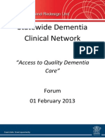 Dementia Clinical Network Report