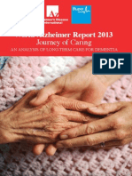 World Alzheimer Dementia Report 2013