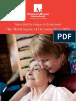 Global Impact Dementia 2013