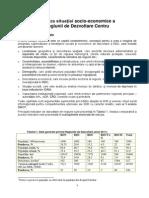 Profilul socio-economic al Regiunii de Dezvoltare Centru