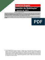Friedrich Engels - Para a Questão da Habitação